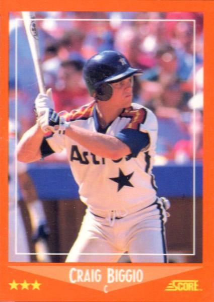 1988 Score Baseball Traded Factory Set