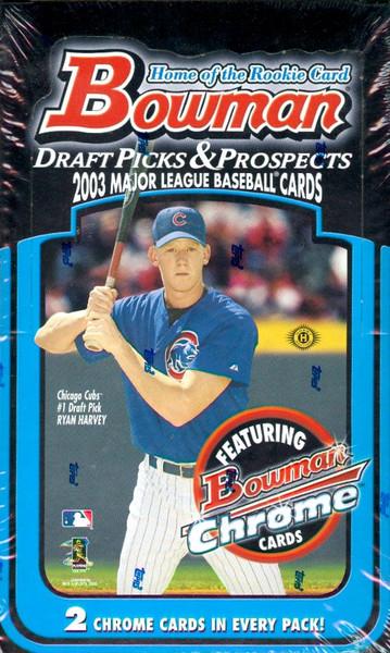 2003 Bowman Draft Box