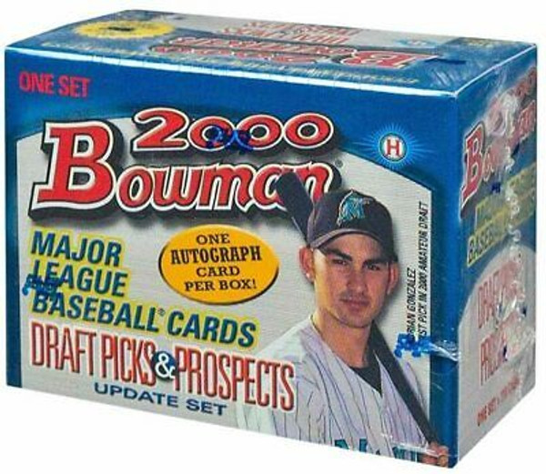 2000 Bowman Draft Factory Box