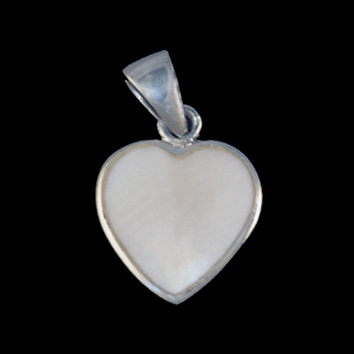 "This unique heart shaped mammoth ivory tusk is inlayed into a sterling silver pendant.  This pendant comes with an 18"" Sterling Silver chain.  The dimensions of the mammoth pendant tusk is approximately .58"" x .50""."