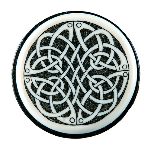 Our Celtic Knot Vacuum Wine Pump Top