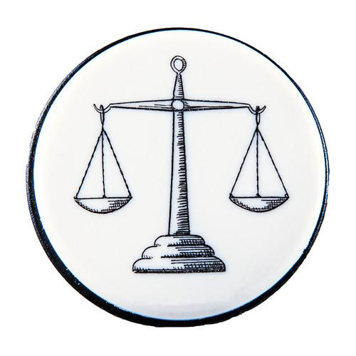 Scales of Justice Vacuum Wine Pump