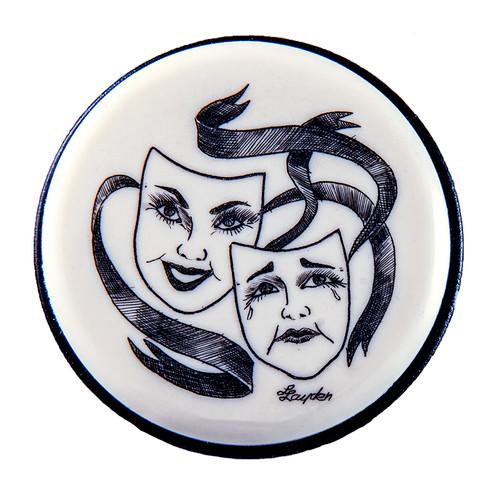 Theater Masks Vacuum Wine Pump