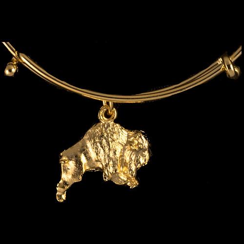 Buffalo Gold Charm