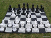 Giant Chess 30cm Garden Chess Set (GC321)