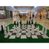 Giant Chess Extension pieces to go from 64cm to 90cm height (GE-36) setup on 64cm set