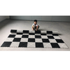 Flexible Rubberized Vinyl 2.8m Giant Chess & Checkers Board for 64cm Giant Chess (GM-13andGM-13ser)