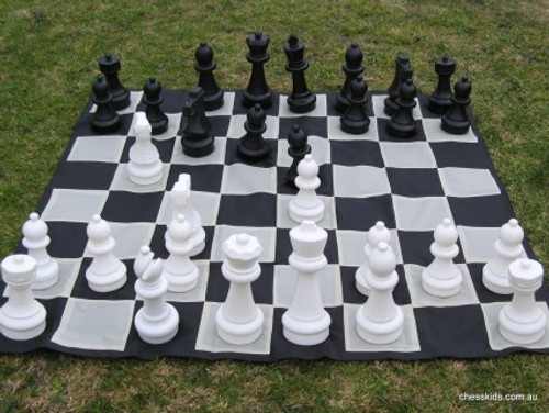 Giant Chess 30cm Garden Chess Set (GC321)