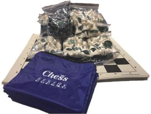 Chess Vinyl Rollup Starter Set (10 Sets)