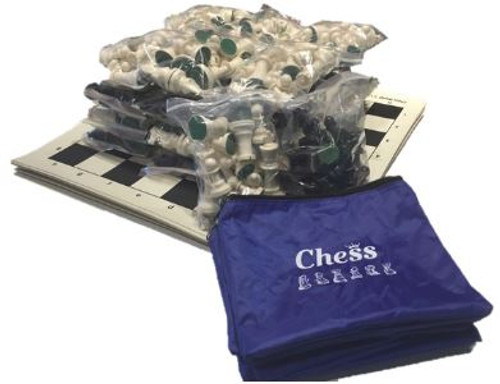 Chess Vinyl Rollup Starter Set (15 Sets)