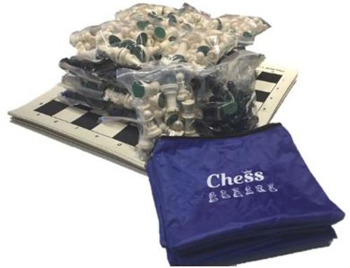 Chess Vinyl Rollup Starter Set (15 Sets)