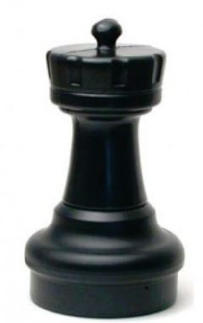 Giant Chess Rook (Black) Individual Replacement Piece (GP003B)