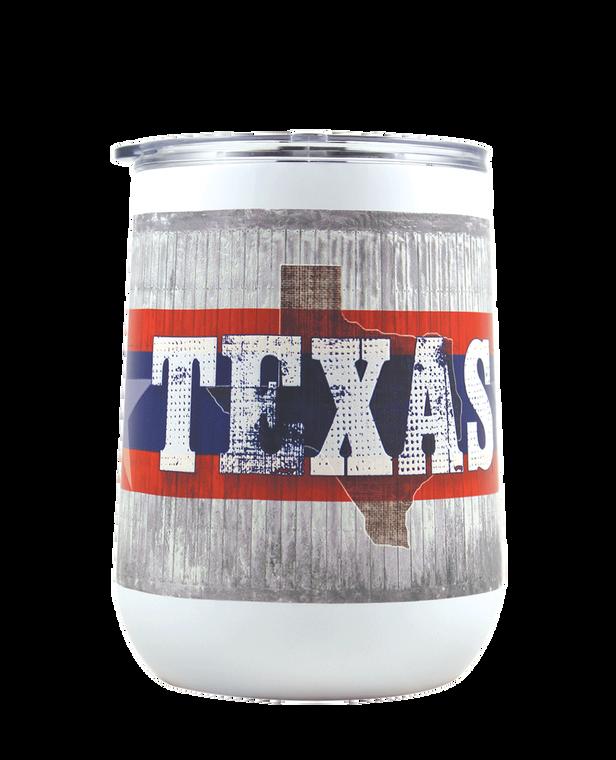 Texas 18 oz Curved Tumbler