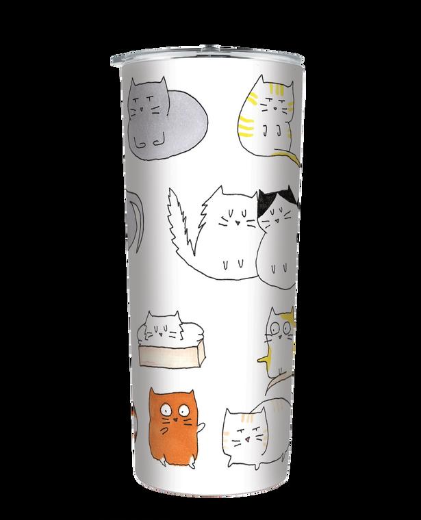 Moodi Cats 24 oz Tumbler