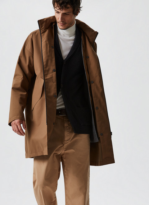 Hooded Parka With Removable L