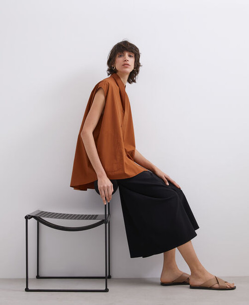Toffee Shirt In Cotton