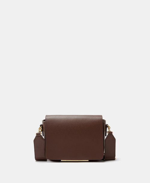 Brown Vachetta Leather Small Shoulder Bag