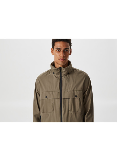 Hooded Parka With Waterproof Pockets