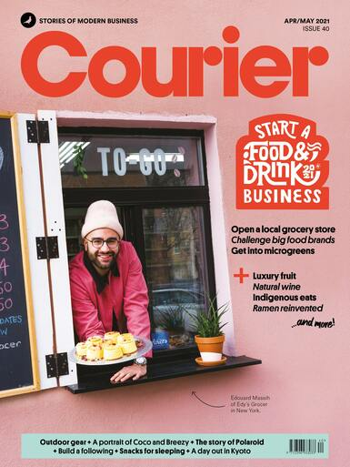 Courier magazine issue 40