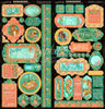 "VOYAGE BENEATH THE SEA 12"" Delux Edition Paper Pad & Sticker Set"
