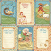 """MOTHER GOOSE 12"""" Delux Edition Paper Pad & Sticker Set"""