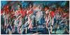The Scots Greys at Waterloo 1815 - Small Print by Nina Greenwood