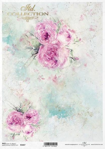 Pastel Roses Large