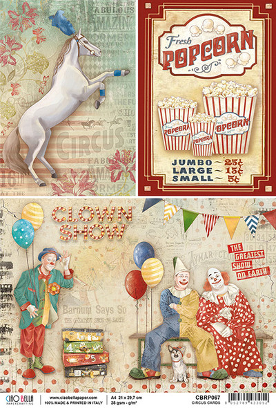 Circus Cards