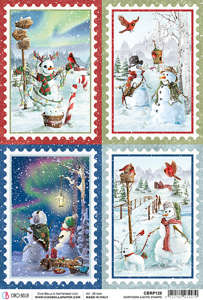 Northern Lights Stamps