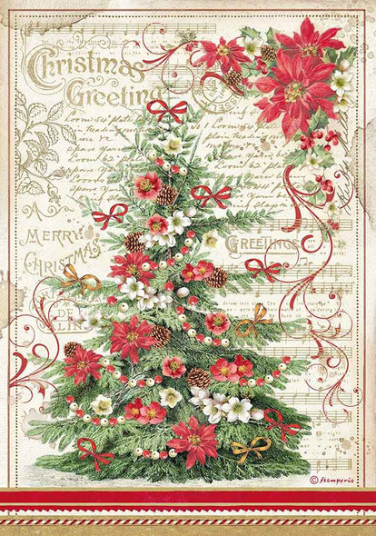 Christmas Greetings Tree