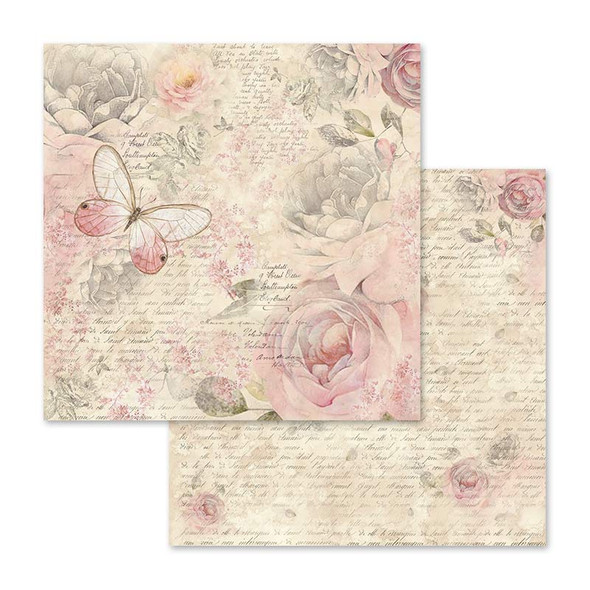 "SHABBY ROSE 12"" Paper Pad"