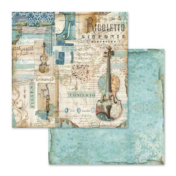 "MUSIC 12"" Paper Pad"