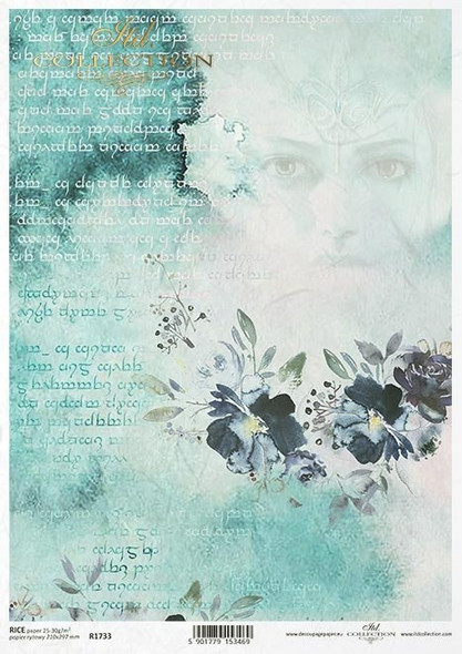 Elven Lady & Writing