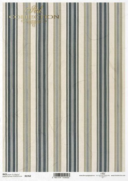 Blue & Beige Stripes