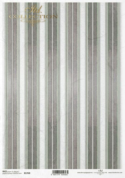 Brown & White Stripes