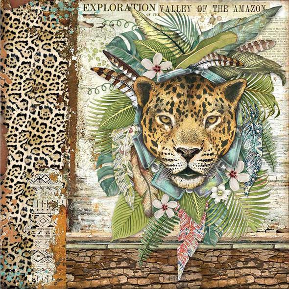 "AMAZONIA 8"" Paper Pad"