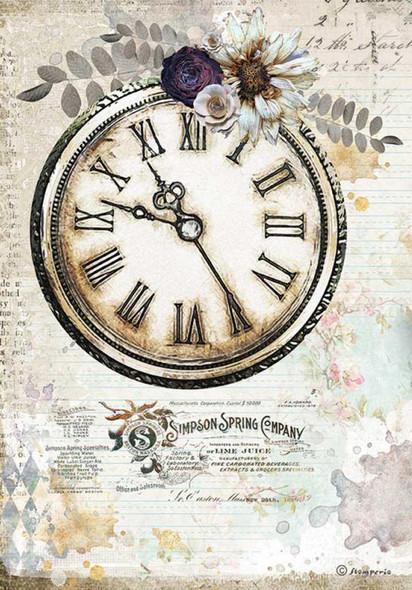 Romantic Journal clock