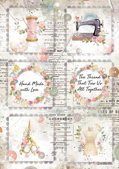 Romantic Threads Mini Cards