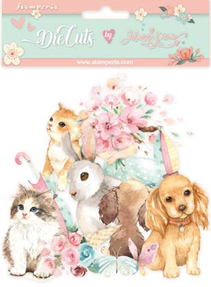 Circle of Love Cats, Dogs & Embellishments