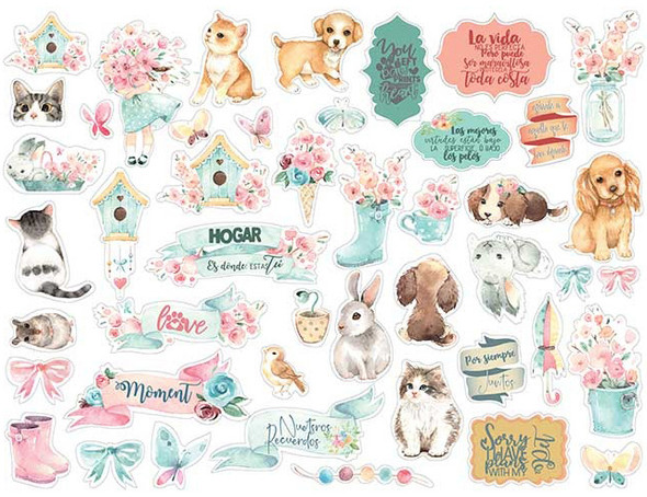 Circle of Love Cats, Dogs & Embellishments Die Cuts