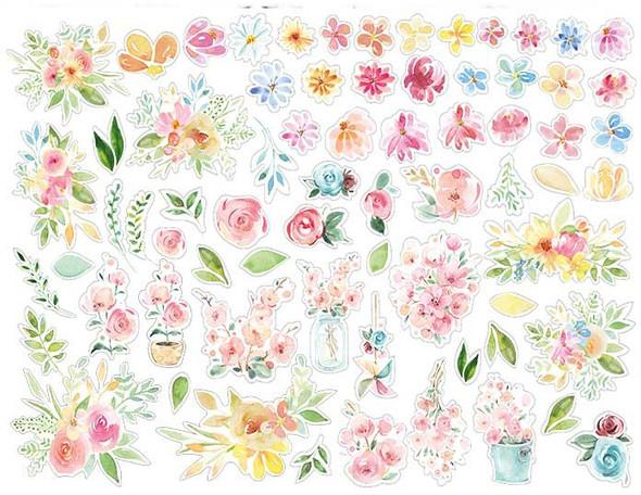 Circle of Love Flowers Die Cuts