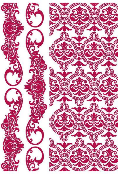 Romantic Journal Border & Texture