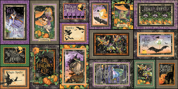 MIDNIGHT TALES Journaling Cards