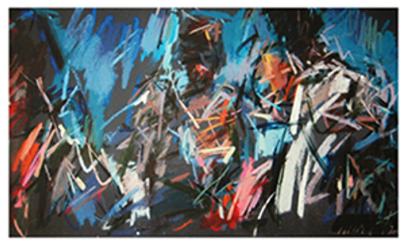 Lord Cardigan at the Charge of the Light Brigade - Limited Edition Medium Signed Print by Nina Greenwood