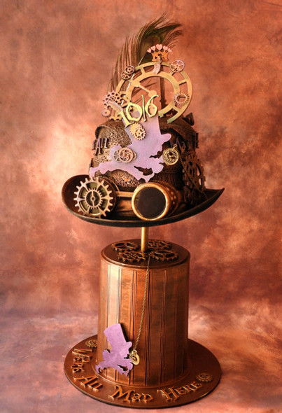 Alice in Steampunkland - 'We're All Mad Here' Hat