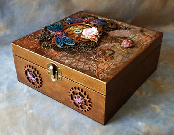 The 'Mechanical Wings of Time' Memory Box