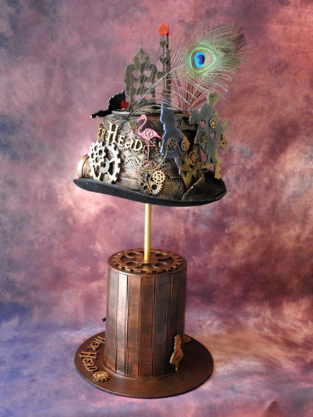 Alice in Steampunkland - 'Off With Her Head' Hat