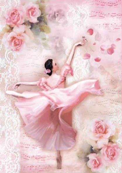 Dancer with Petals