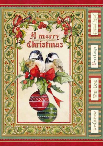 Christmas Vintage Birds & Spheres