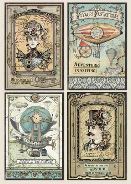 Voyages Fantastiques Cards